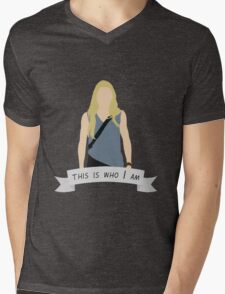 "Emma Swan – "" This is who I am "" Mens V-Neck T-Shirt"