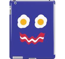 Eggs and Bacon Face iPad Case/Skin