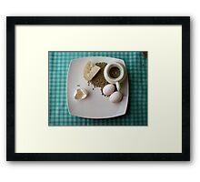 Breakfast Combo Framed Print