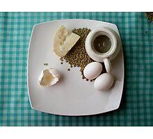 Breakfast Combo Photographic Print