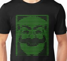 Mr Robot fsociety Mask in Code (as seen in Social Engineers Toolkit) Unisex T-Shirt