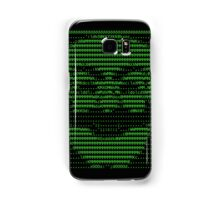 Mr Robot fsociety Mask in Code (as seen in Social Engineers Toolkit) Samsung Galaxy Case/Skin