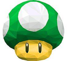 Super Mario Bros. 1UP Photographic Print