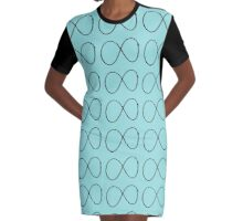 infinity 2 Graphic T-Shirt Dress