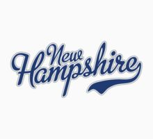 New Hampshire Script Blue by Carolina Swagger