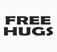 Free Hugs - Baby Jumpsuit PJ Kids Clothing Kids Tee