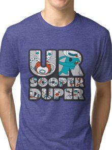 ursooperduper Logo Tri-blend T-Shirt