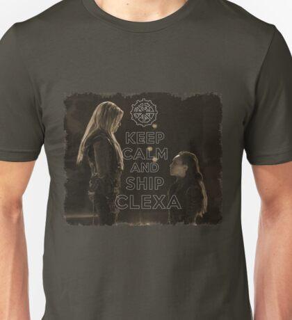 KEEP CALM CLEXA Unisex T-Shirt