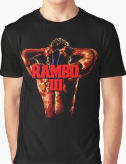RAMBO III - SEGA GENESIS Graphic T-Shirt