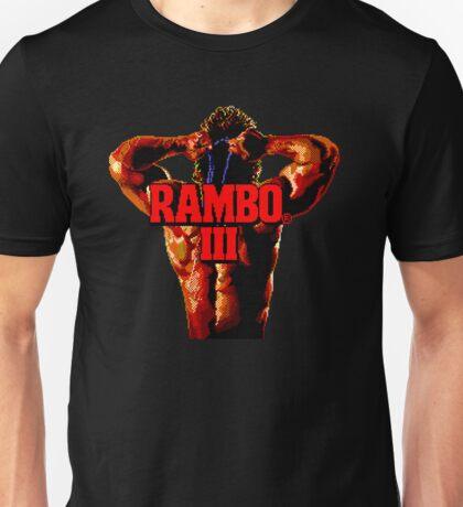 RAMBO III - SEGA GENESIS Unisex T-Shirt