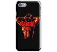RAMBO III - SEGA GENESIS iPhone Case/Skin