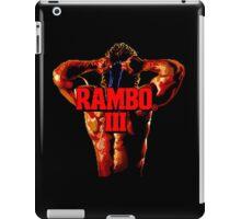 RAMBO III - SEGA GENESIS iPad Case/Skin