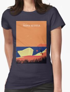 Come visit Nova Scotia Womens Fitted T-Shirt