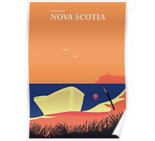 Come visit Nova Scotia Poster