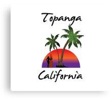Topanga California Canvas Print