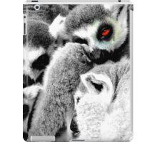 One Eye Open Lemur iPad Case/Skin