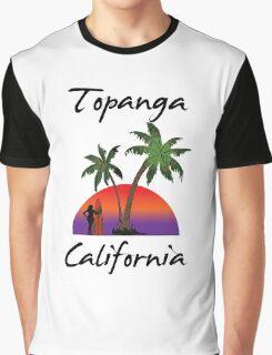 Topanga California Graphic T-Shirt