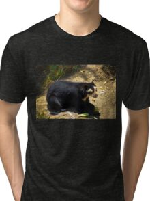 Ukumari, Andean Spectacled Bear Tri-blend T-Shirt