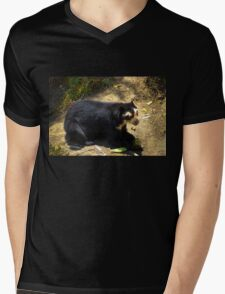 Ukumari, Andean Spectacled Bear Mens V-Neck T-Shirt