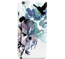 HARRY POTTER HEDWIG WATERCOLOUR  iPhone Case/Skin