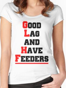 Good lag and have feeders Women's Fitted Scoop T-Shirt