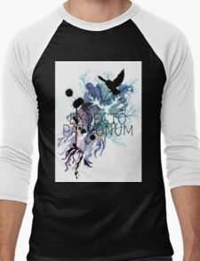 EXPECTO PATRONUM HEDWIG WATERCOLOUR Men's Baseball ¾ T-Shirt