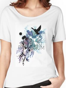 EXPECTO PATRONUM HEDWIG WATERCOLOUR Women's Relaxed Fit T-Shirt
