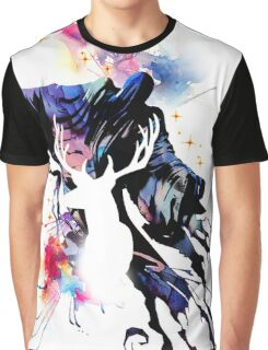 HARRY POTTER WATERCOLOUR  Graphic T-Shirt