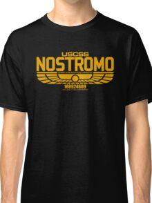 NOSTROMO ALIEN MOVIE STARSHIP (YELLOW) Classic T-Shirt