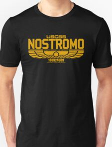 NOSTROMO ALIEN MOVIE STARSHIP (YELLOW) Unisex T-Shirt