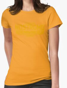 NOSTROMO ALIEN MOVIE STARSHIP (YELLOW) Womens Fitted T-Shirt