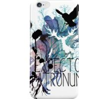 EXPECTO PATRONUM HEDWIG WATERCOLOUR 2 iPhone Case/Skin