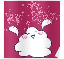 Wanda Happy Cloud Confetti Poster