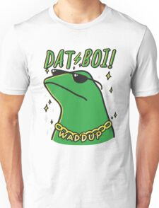 dat boi meme t-shirt Unisex T-Shirt