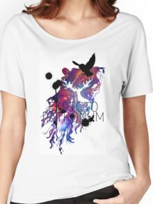 EXPECTO PATRONUM HEDWIG GALAXY 2 Women's Relaxed Fit T-Shirt