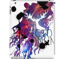 EXPECTO PATRONUM HEDWIG GALAXY 2 iPad Case/Skin