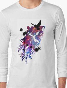 HARRY POTTER HEDWIG GALAXY Long Sleeve T-Shirt