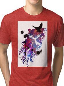 HARRY POTTER HEDWIG GALAXY Tri-blend T-Shirt