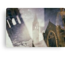 The Doomed Church Canvas Print