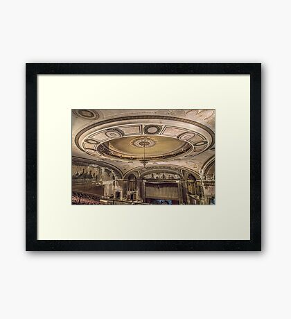 Show tunes Framed Print