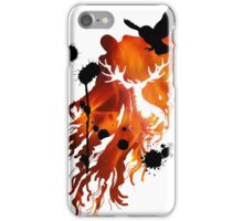 HARRY POTTER HEDWIG FIRE iPhone Case/Skin