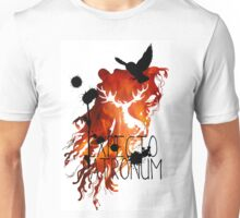 EXPECTO PATRONUM HEDWIG FIRE Unisex T-Shirt