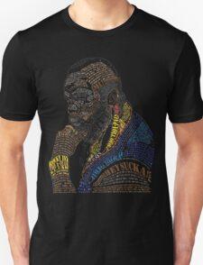 MR. T IN WORDS Unisex T-Shirt