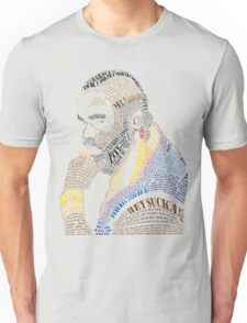 MR. T IN WORDS Unisex T-Shirt