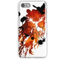 EXPECTO PATRONUM HEDWIG FIRE iPhone Case/Skin