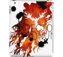 EXPECTO PATRONUM HEDWIG FIRE iPad Case/Skin