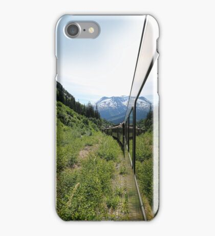 Train to Whitepass iPhone Case/Skin