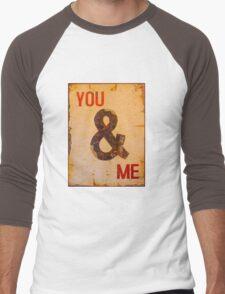 You & I - Vintage Sign Men's Baseball ¾ T-Shirt