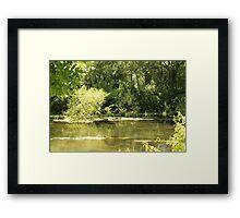 White Mill Framed Print