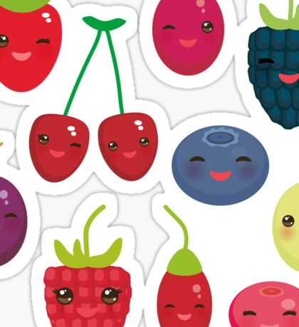 Fresh Berries Sticker